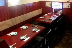 海ぼうずアスティ店01テーブル席